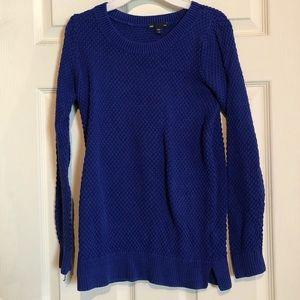 Gap Blue Women's Crewneck Sweater Size XS